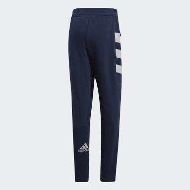 Pantalon de présentation Fédération Française de Handball Bleu Handball