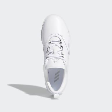 Frauen Golf Adicross PPF Schuh Weiß