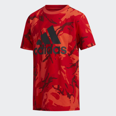 Youth Training Burgundy Classic Camo Tee