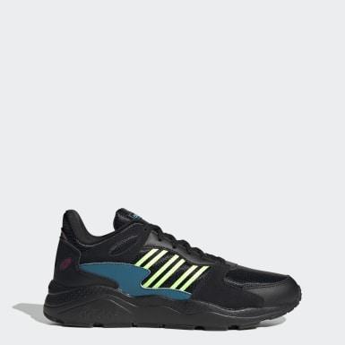ผู้ชาย Sport Inspired สีดำ รองเท้า Crazychaos