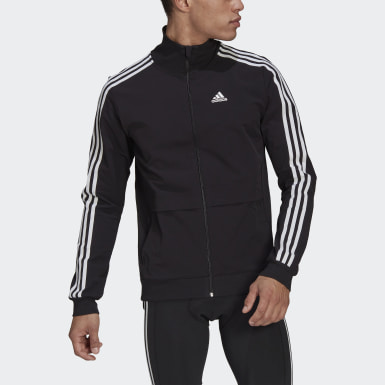 Men Cycling Black The Trackstand Cycling Track Top