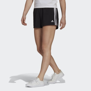 Nữ Sport Inspired Quần short 3 Sọc vải dệt Relaxed Essentials