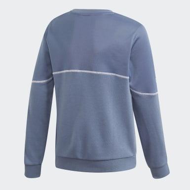 Sudadera cuello redondo Outline Azul Niño Originals