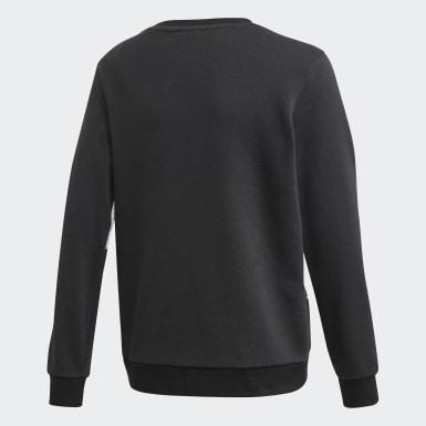 Sweatshirt Big Trefoil Preto Criança Originals