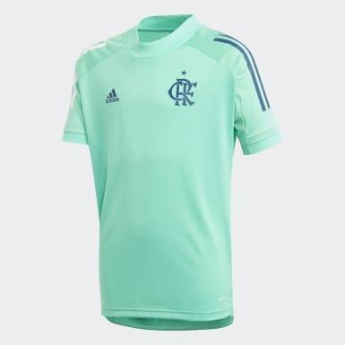 Camisa Treino CR Flamengo Verde Kids Futebol