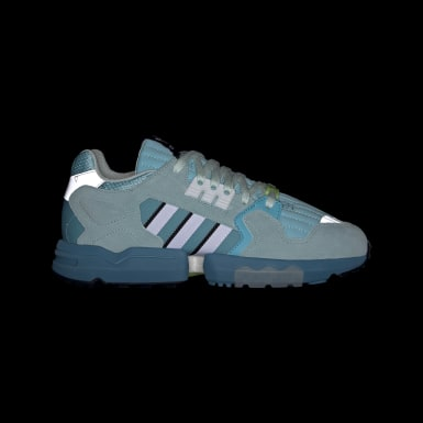 Women Originals Turquoise ZX Torsion Shoes