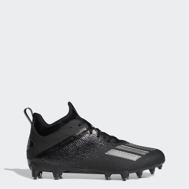 Men's Football Black Adizero Scorch Cleats