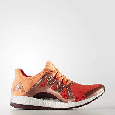 Women's Running Orange Pure Boost Xpose Shoes