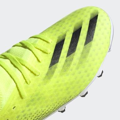 Fodbold Gul X Ghosted.3 Multi-Ground støvler