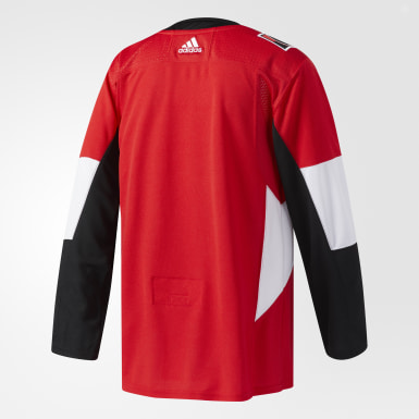 Maillot Senators Domicile Authentique Pro rouge Hockey