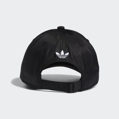 Women Originals Black Sleek Strap-Back Hat