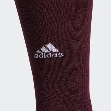Baseball Burgundy Utility Knee Socks