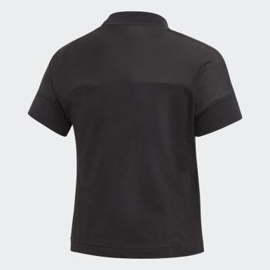 Youth 8-16 Years Yoga Black ID Glam T-Shirt