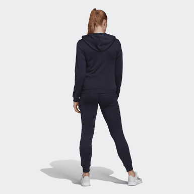 Γυναίκες Athletics Μπλε Essentials Logo French Terry Track Suit
