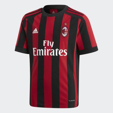 красный Игровая футболка ФК Милан Home