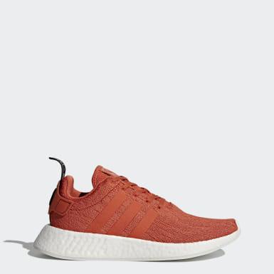 ผู้ชาย Originals สีแดง รองเท้า NMD_R2
