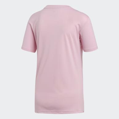 Camiseta Campeón 19 Rosado Mujer Fútbol