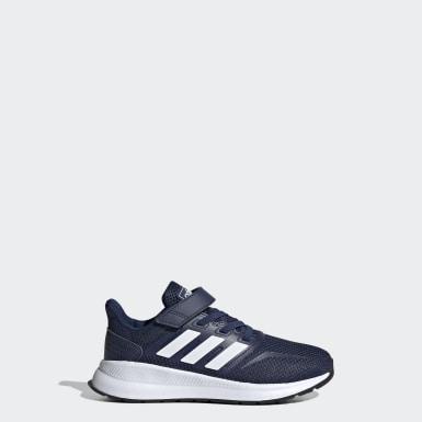 Børn Løb Blå Run Falcon sko