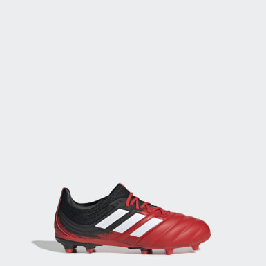 Boys Football Red Copa 20.1 Firm Ground Boots