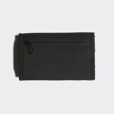 Training Black Linear Logo Wallet