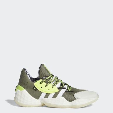 Men Basketball Green Daniel Patrick x Harden Vol. 4 Shoes