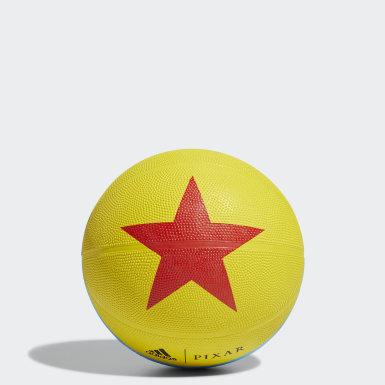 Ballon de basketball Luxo jaune Basketball