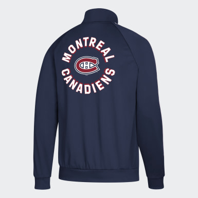 Veste de survêtement Canadiens Essentials 3-Stripes multicolore Hommes Hockey