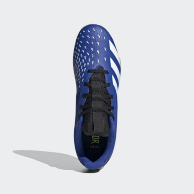 Calzado de Fútbol Predator Freak.4 Cancha Cubierta Fútsal Azul Fútbol
