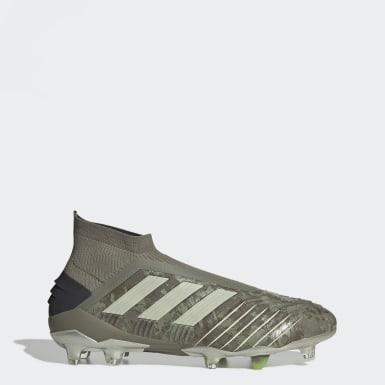 Kvinder Fodbold Grøn Predator 19+ Firm Ground støvler