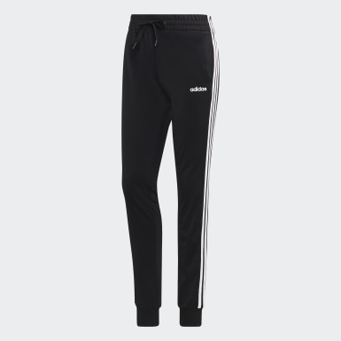 Women Training Black Essentials Pants
