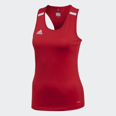 Women's Soccer Red Team 19 Singlet