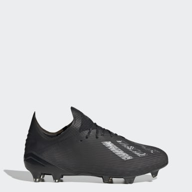 Soccer Black X 19.1 Firm Ground Cleats