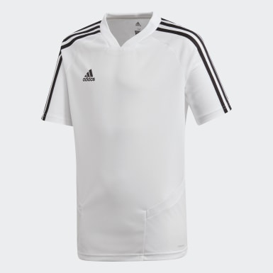 Youth Soccer White Tiro 19 Training Jersey