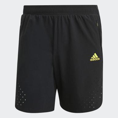 Men Running Black adidas Ultra Shorts