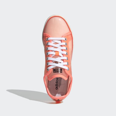 Chaussure Stan Smith Orange Femmes Originals