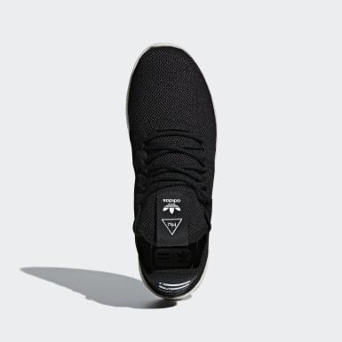 Sapatos Pharrell Williams Tennis Hu Preto Originals
