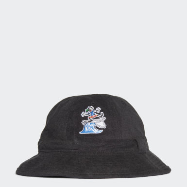 Originals Black Goofy Bell Bucket Cap