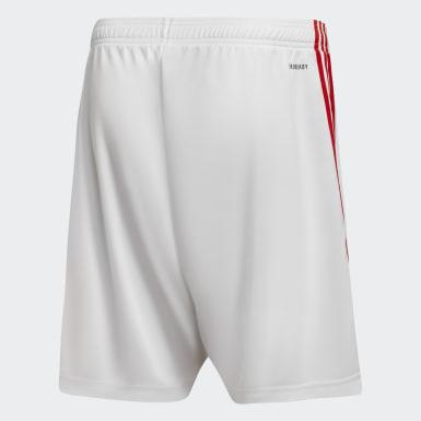 Shorts Visitante River Plate 20/21 Blanco Niño Fútbol