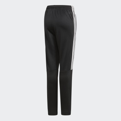 Kids Athletics Black Tiro 3-Stripes Joggers