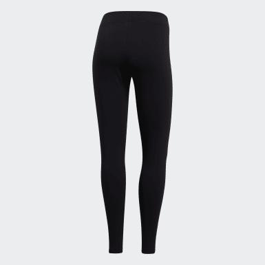 Leggings Essentials Linear Nero Donna Athletics