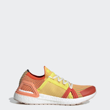 Women's adidas by Stella McCartney Orange Ultraboost 20 S Shoes