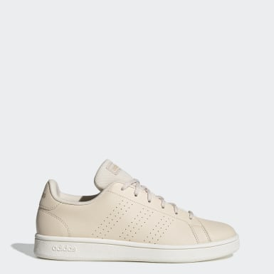 Tenis Advantage Base Beige Mujer Sport Inspired