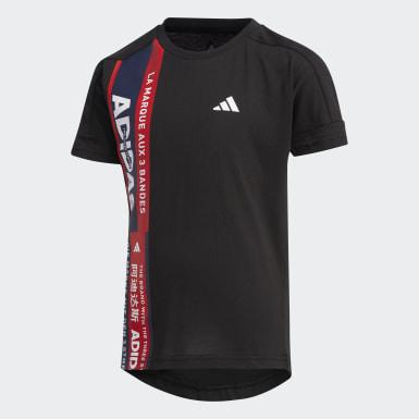Camiseta Negro Niño Yoga