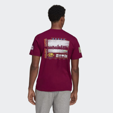 Men's Athletics Purple adidas Athletics Graphic Tee