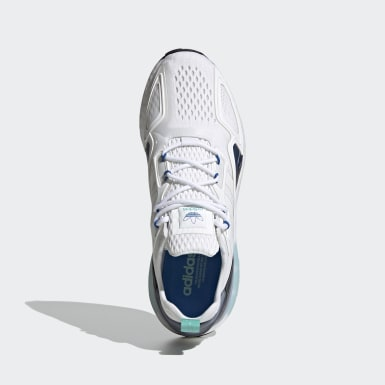 Sapatos ZX 2K Boost Branco Originals
