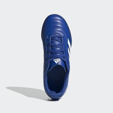 Chuteira Copa 20.4 Society Azul Meninos Futebol