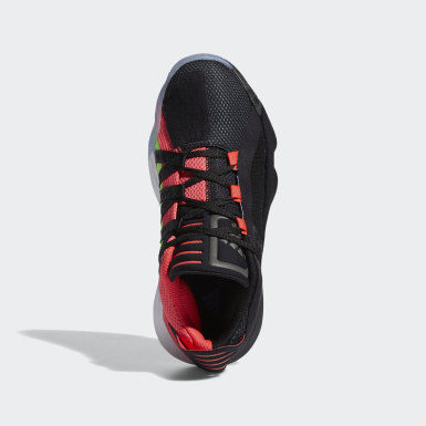 Sapatos Dame 6 Preto Criança Basquetebol