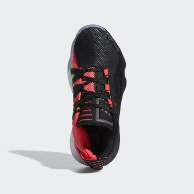 Zapatillas de básquet Dame 6 Negro Niño Básquet