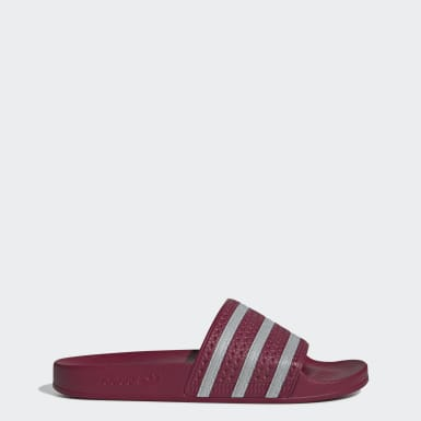 Men's Originals Burgundy Adilette Slides