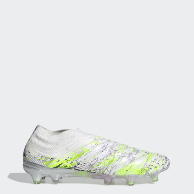 Football White Copa 20+ Firm Ground Boots
